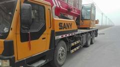 SANY USED TRUCK CRANE
