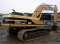 used Caterpillar 330B excavator