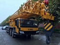 used XCMG 50 tons  truck crane