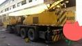 used Kato NK250EV truck crane