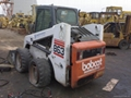 Loader Backhoe - Bobcat 863-loader used