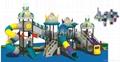 深圳游乐设施-组合滑梯-幼儿园