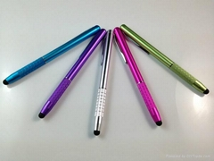 2013 New design aluminium stylus pen for iPhone iPad