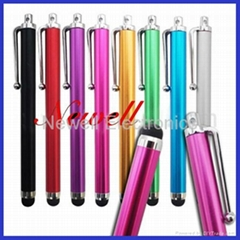 Colorful capacitive touch stylus pen for iPhone/iPad