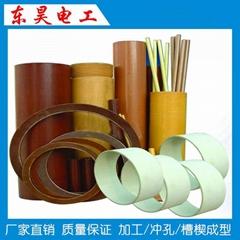 Silicone laminated glass cloth tube