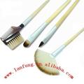 Bamboo makeup brush set,Bamboo brush set