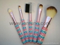Crystal makeup brush set,crystal brush set 1
