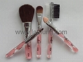 Acrylic brushes,acrylic cosmetic brush