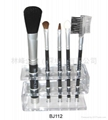 Brush Set With Plastic Stand