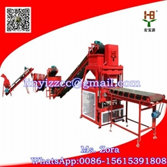HBY4-10 Clay Interlocking Brick Machine