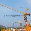 Hongda luffing jib tower crane
