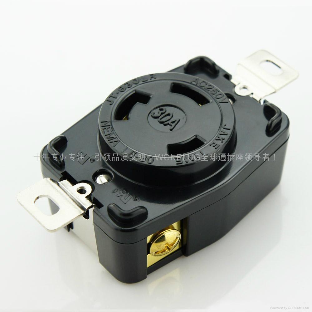 30A 250V 發電機插座 1