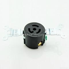 15A 125V NEMA L5-15R Self-locking Receptacle