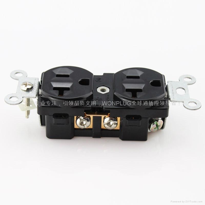 20A125V雙聯插座 1