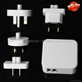 4.2A 4USB Universal Travel Charger 8