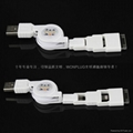 Iphone5 three in one USB cable