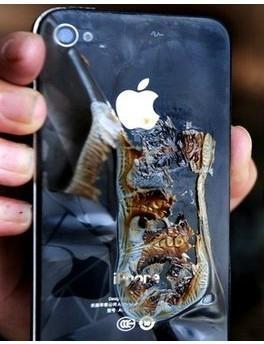 手机充电爆炸图