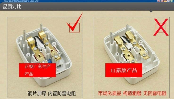 转换插座内部结构