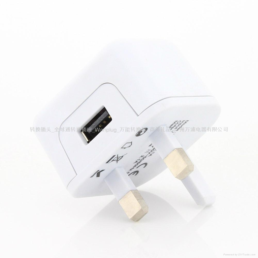 2.1A UK mobile charger 4