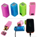 AA battery emergency USB power bank 1