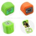 AA battery emergency USB power bank