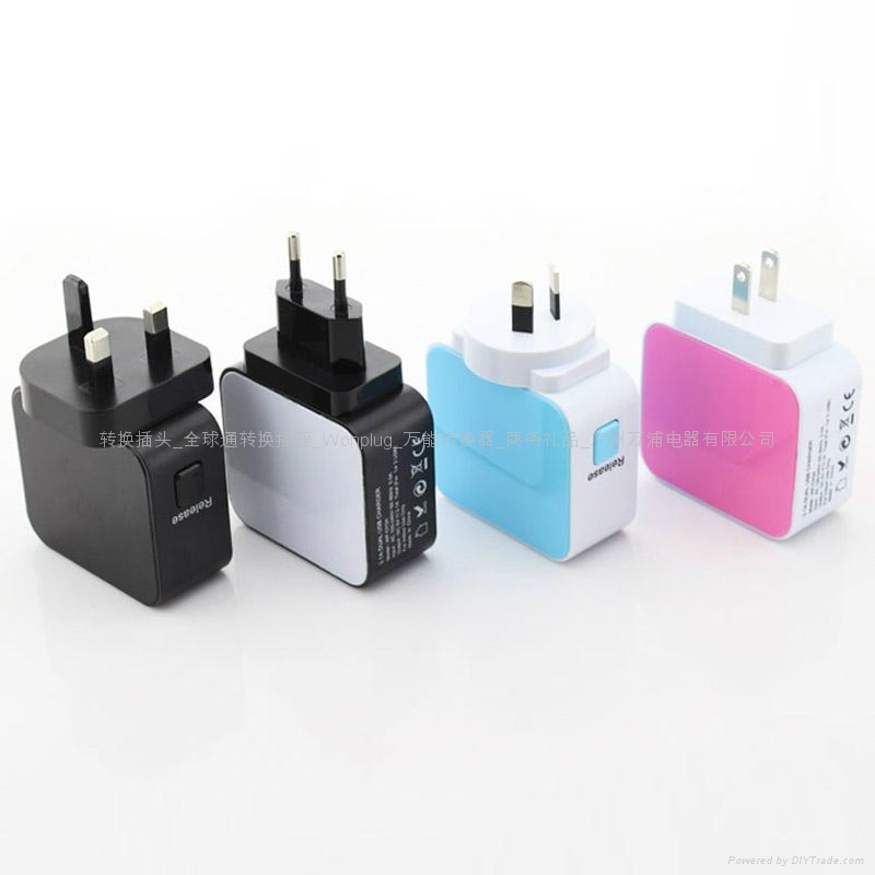 4.2A 4USB Universal Travel Charger 4