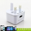 2.1A UK mobile charger