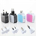 4.2A 4USB Universal Travel Charger 3