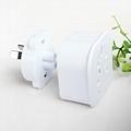Universal plug with surge protection