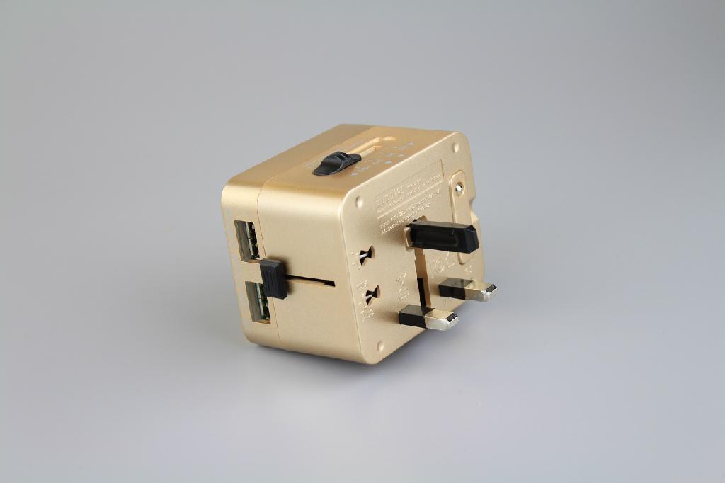 英标电源转换插头