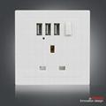 牆壁轉換插座