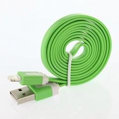 Iphone5扁形充电数据线