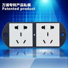 Screw locking duplex China New standard socket