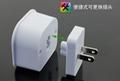 wonplug Universal plug with surge protection device