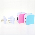 4USB universal travel charger  5
