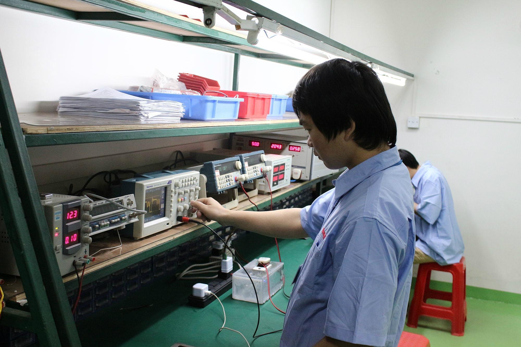 电子产品研发质检部
