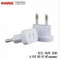 travel plug adapter Korea