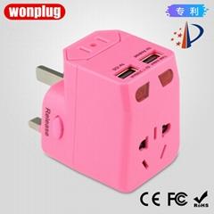 WP-360 USB多国旅行插座转换器 厂家定制