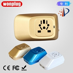 wonplug 2.1A Dual USB Travel Adapter