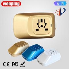 wonplug 2.1A Dual USB Tr