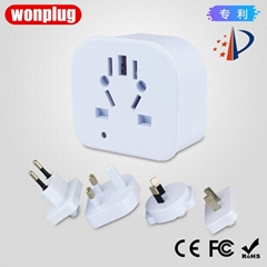 wonplug Universal plug with surge protection device