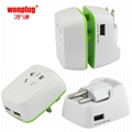 universal travel adapter and converter