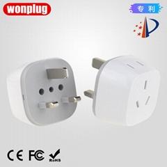 USA/Nea Zealand to UK/Hong Kong/Singapore/Maldives/Saudi Arabia plug adapter