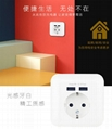 EU Germany wall socket outlet with USB