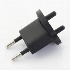 19BSchuko to Swiss Converter Plug (Non-earthed)