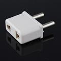 USA/Euro to Euro (¢4.0mm) Plug Adapter