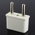 USA/Euro to Euro (¢4.0mm) Plug Adapter