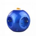 韩国/德国专用球形电源插座 家