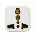 World universal to Italy travel plug adapter Italy plug adaptor