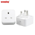 UK PORTABLE SOCKET TIMER OUTLET WIFI SMART HOME PLUG